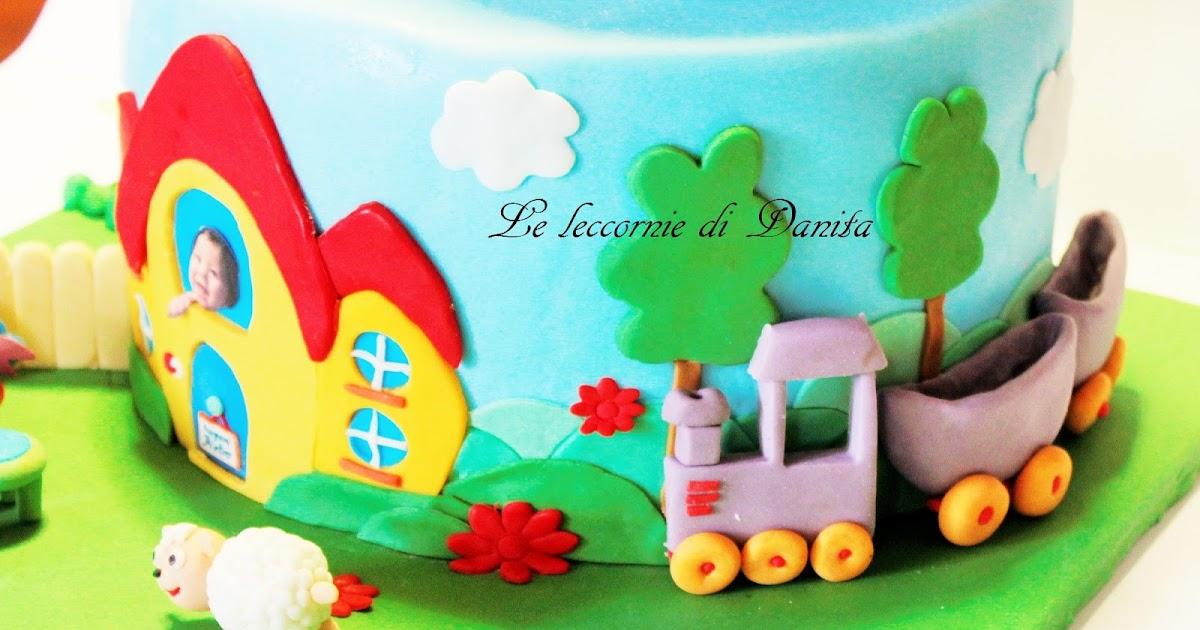 Torta Baby TV per il piccolo Pietro e sweet table!
