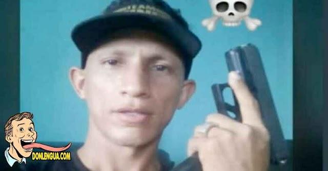 PNB aplicó Pena de Muerte Instantánea a este delincuente de El Valle
