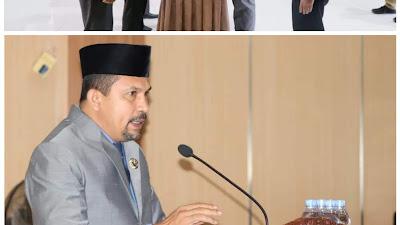 Bupati AKJ Sampaikan Pidato Penyampaian Pengantar Nota Keuangan Rancangan Perubahan APBD 2021