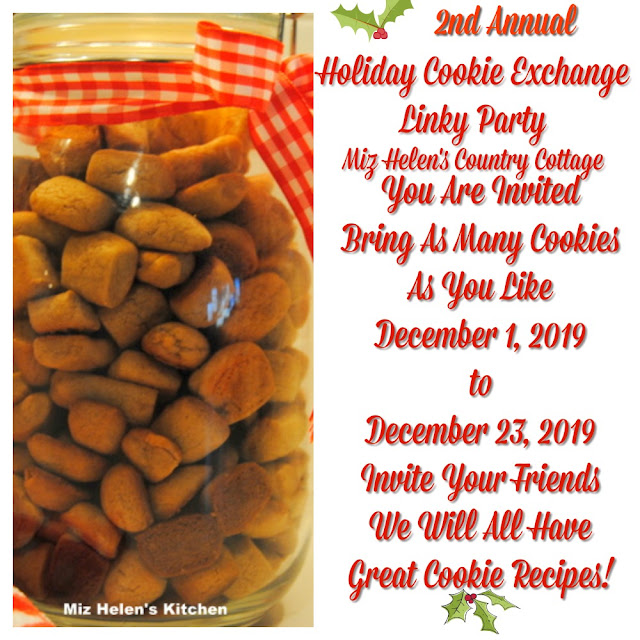 Holiday Cookie Exchange Link Party at Miz Helen's Country Cottage