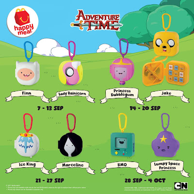 McDonald's Happy Meal Free Adventure Time Toys