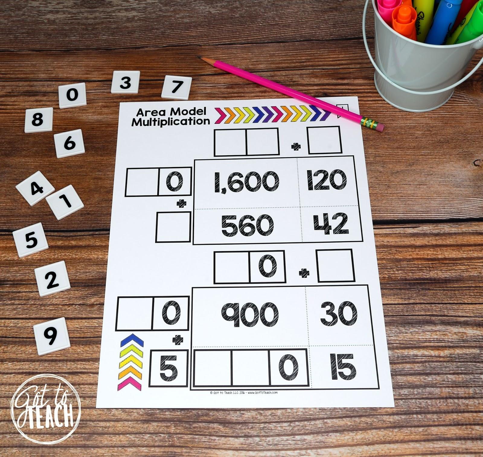 Math Tiles: My Favorite Math Activity! • Teacher Thrive