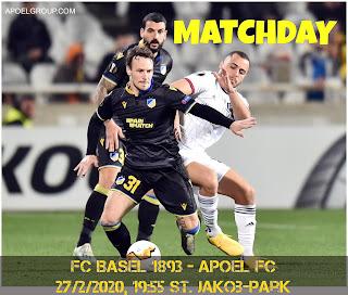 MATCHDAY: FC Basel - APOEL FC [3-0 agg.] UEL «Η υπερβατική βραδιά της Ελβετίας!»