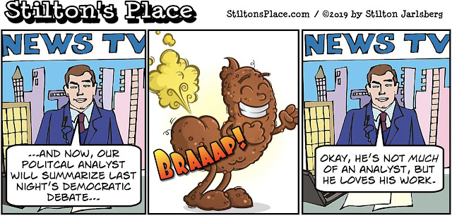 stilton's place, stilton, political, humor, conservative, cartoons, jokes, hope n' change, democrat, debates