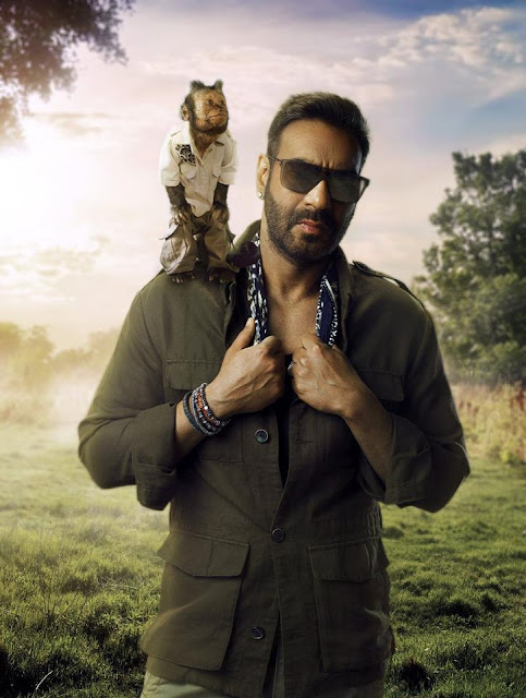 Ajay Devgn First Look from Total Dhamaal, Ajay Devgn With Crystal Monkey