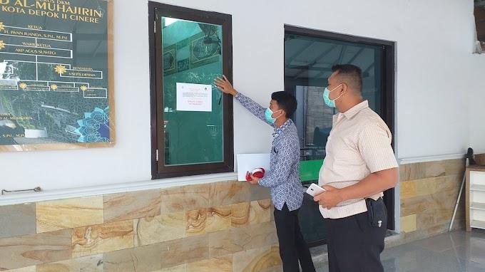 Masjid Al-Muhajirin Samsat Cinere Tidak Menggelar Shalat Jumat