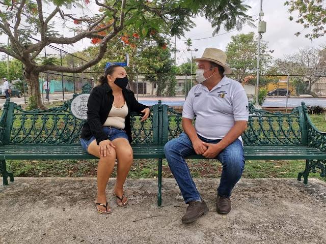 """""""Panchito"""" Torres se compromete a impulsar el empoderamiento y bienestar de la Mujer"""