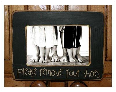 Παρακαλώ βγάλτε τα παπούτσια σας...
