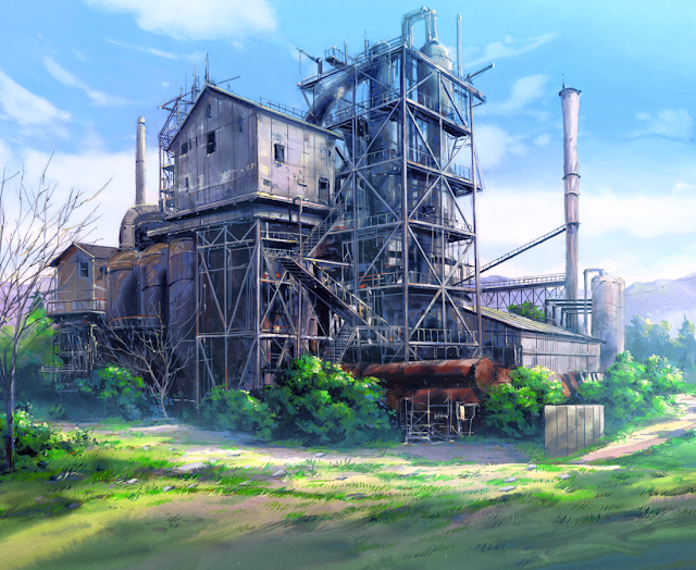 Farm (Anime Background)