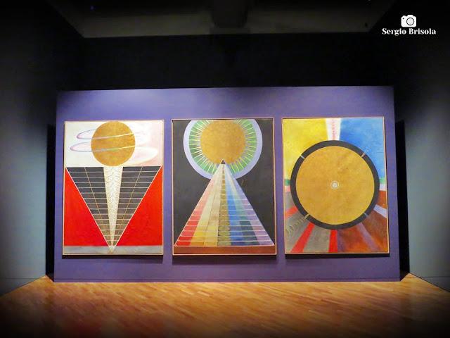 Vista de algumas Obras da Exposição Mundos Possíveis - Pinacoteca SP - Luz - São Paulo