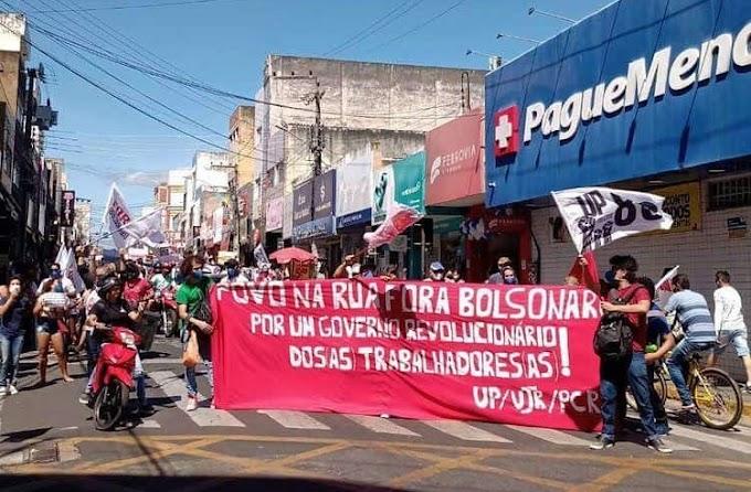 """""""Somente com o povo na rua conseguiremos derrubar Bolsonaro"""", diz Bruna Santos"""