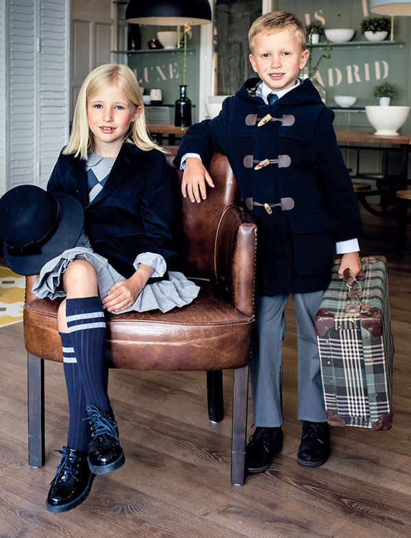 Tapados 2018. Sacos 2018. Moda abrigos para niños y niñas otoño invierno 2018.