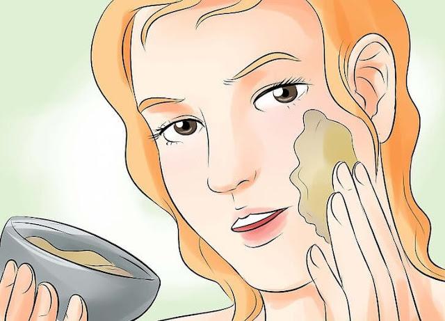 خلطة سهلة وسريعة لتبييض الوجه