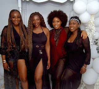 Photos: 13-years After Uche Jombo, Genevieve Nnaji, Rita Dominic And Ini Edo Hold A 'girlscot' Reunion