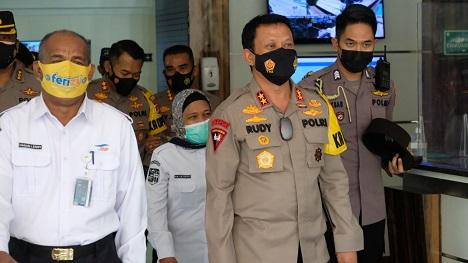 Kapolda Banten Siap Amankan Larangan Mudik, Cek Pelabuhan Merak