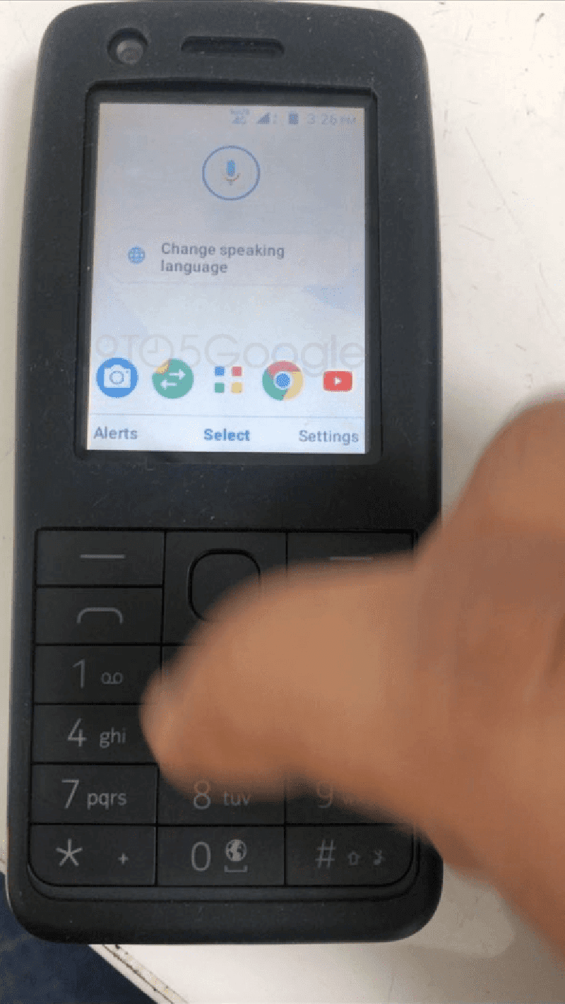 Google is working on an Android-powered feature phone?
