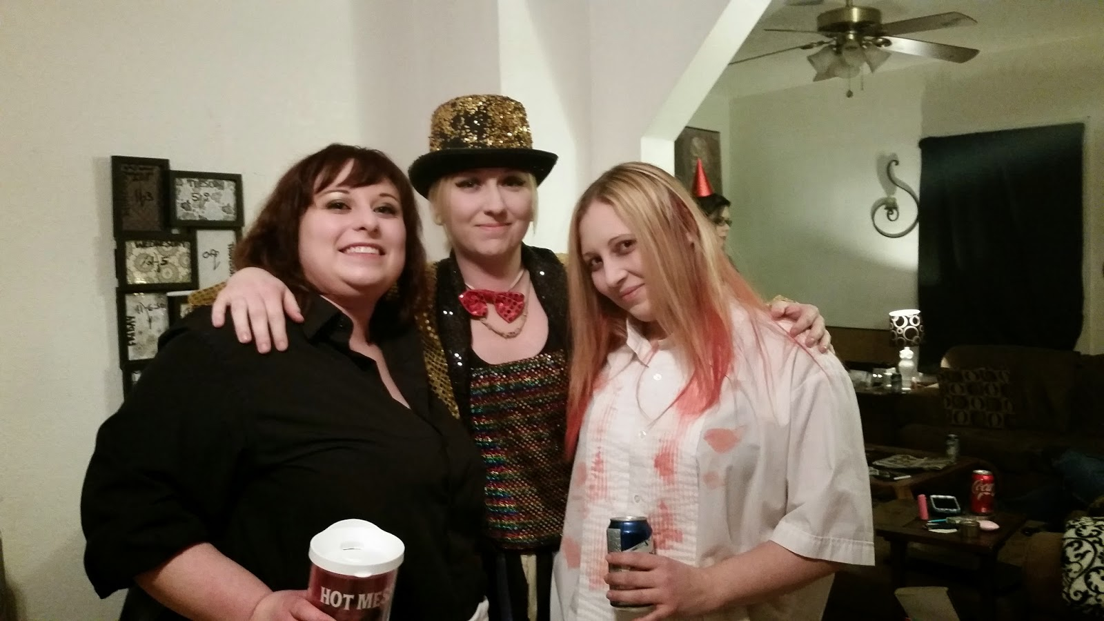 Costume pictures, rocky horror themed birthday