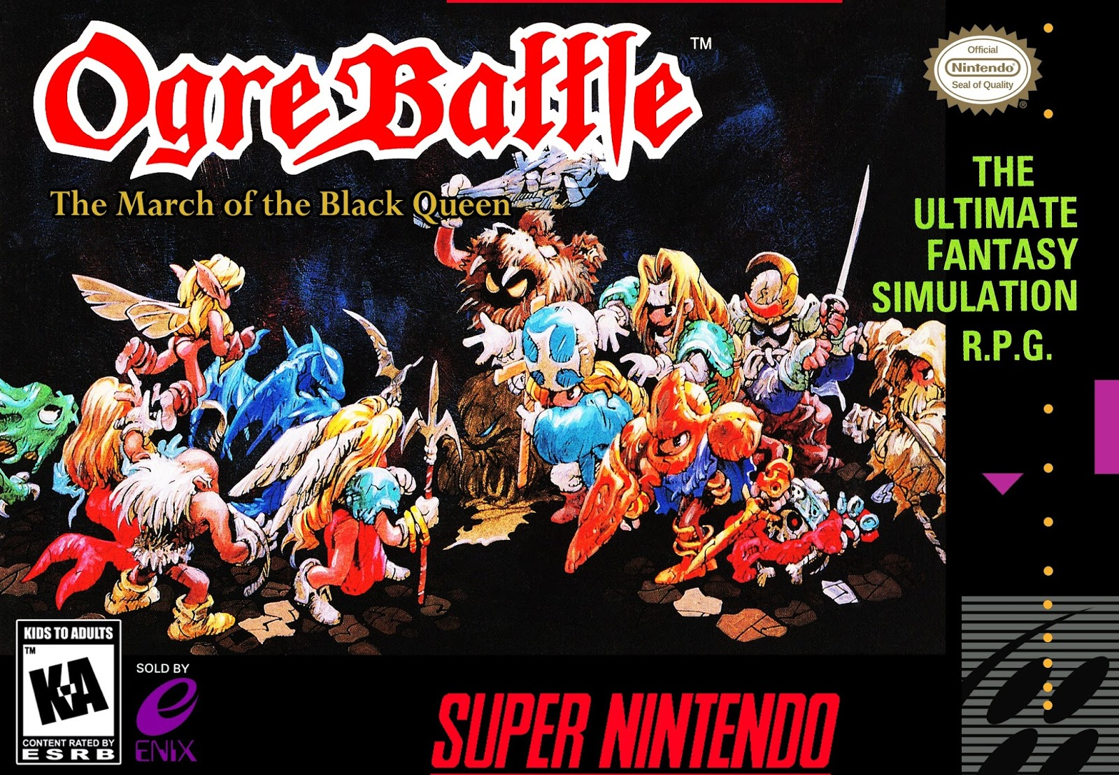 Retro Reflections: Ogre Battle