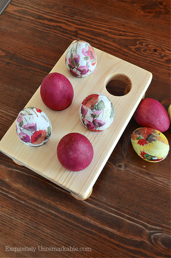 Wooden Egg Holder DIY