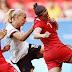 Seleção feminina perde do Canadá, mas avança às quartas do Rio 2016