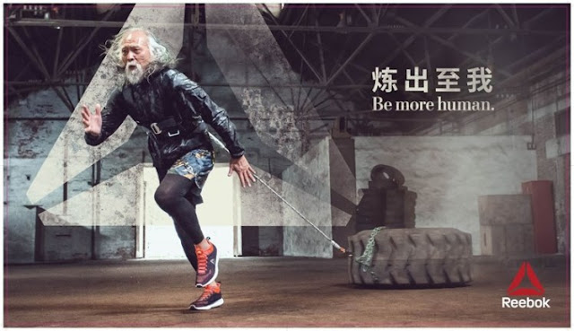 China's Hottest Grandpa is the new brand ambassador of Reebok