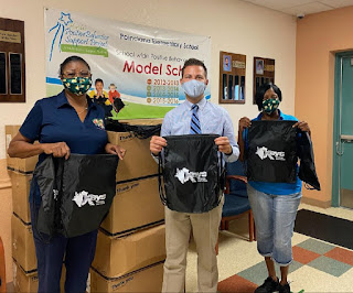 Backpacks from Keys Energy Services to be used to tackle food insecurity