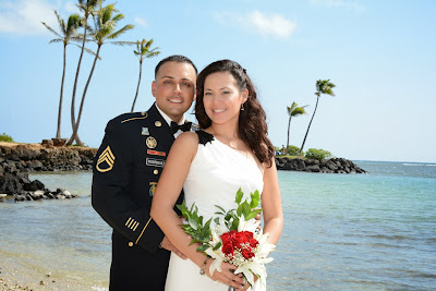 Military Wedding in Hawaii