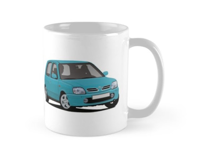 Nissan Micra / Nissan March - car coffee mug