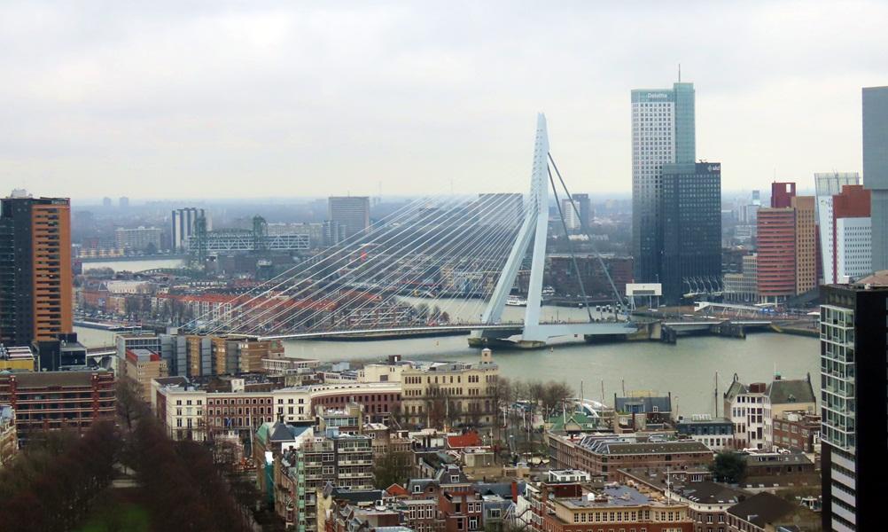 Rotterdam com crianças
