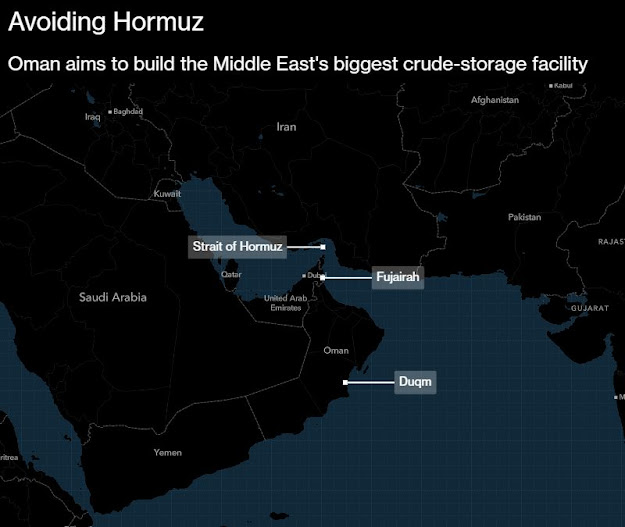 #Oman Steps Up Plan for Middle East's Biggest Oil-Tank Farm - Bloomberg