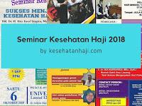 Daftar Seminar Kesehatan Haji 2018