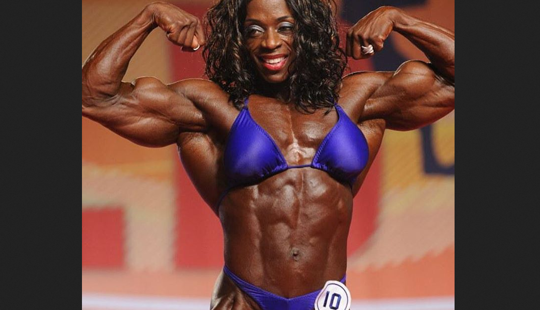 Iris Kyle, a strong and muscular woman