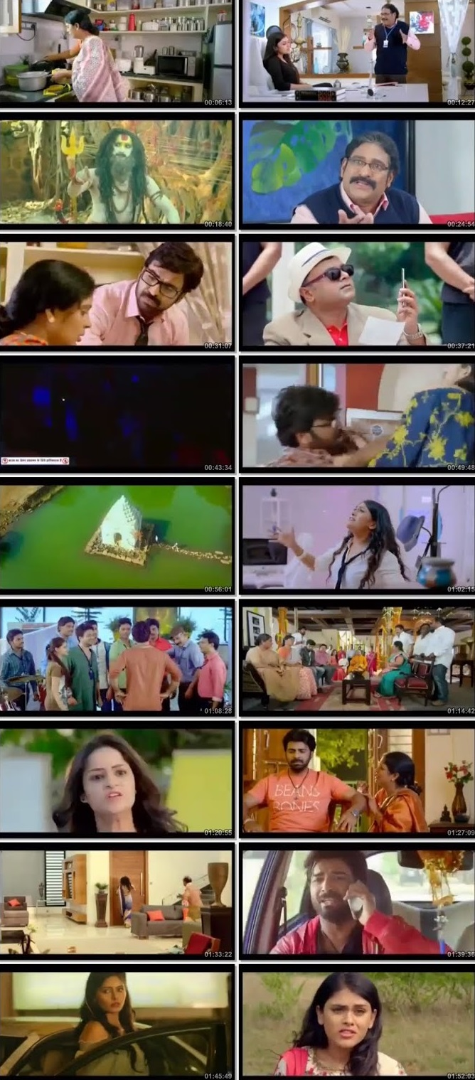 Screen Shot Of Ho Gaya Total Siyapaa 2019 Hindi Dubbed Free Download 100MB HEVC For Mobiles