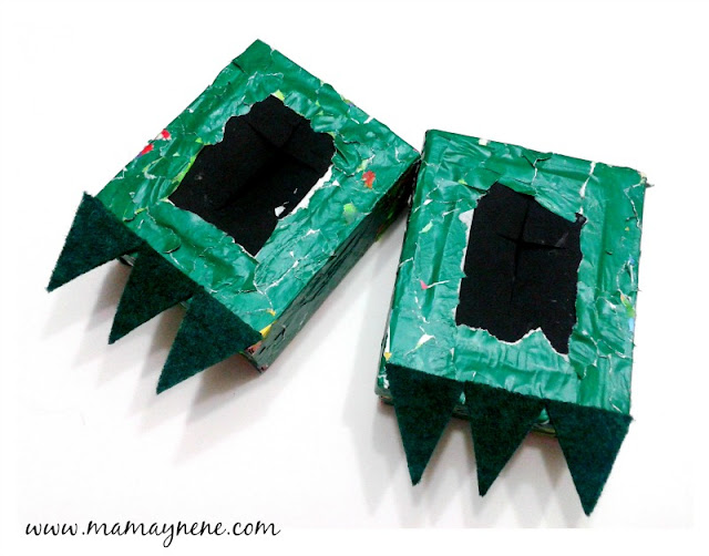 PATITAS-DINOSAURIO-DIY-KIDS-RECYCLE-MAMAYNENE