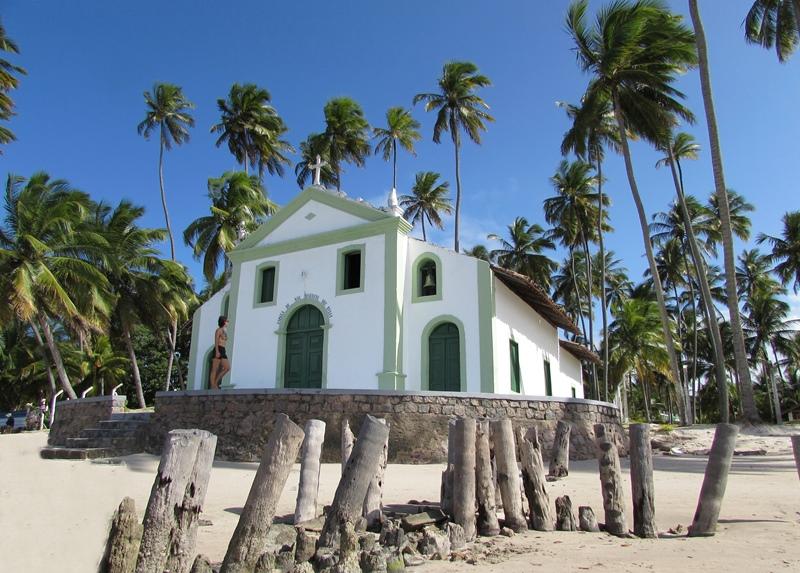 Capela de São Benedito, Praia dos Carneiros