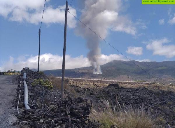 Comienza la erupción del volcán de Cumbre Vieja en La Palma