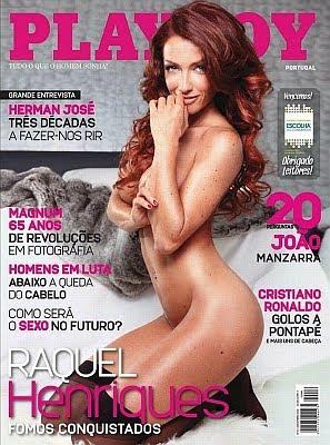 Playboy Portugal Novembro 2012 - Raquel Henriques