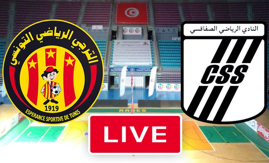 بث مباشر | مشاهدة مباراة الترجي الرياضي التونسي و النادي الصفاقسي في نهائي كرة الطائرة - live streaming Volley match tunisie