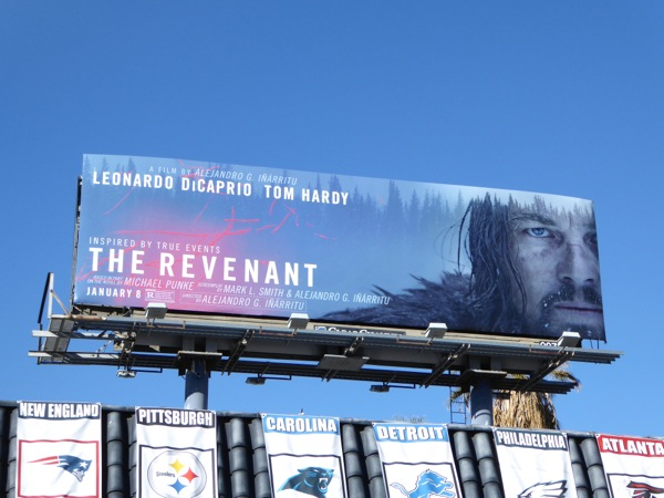 Revenant movie billboard