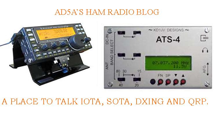 AD5A's Radio Blog