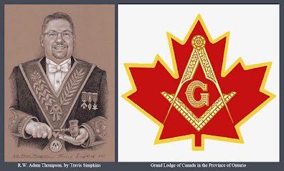 R.W. Adam E. Thompson. Grand Lodge of Canada in the Province of Ontario. by Travis Simpkins