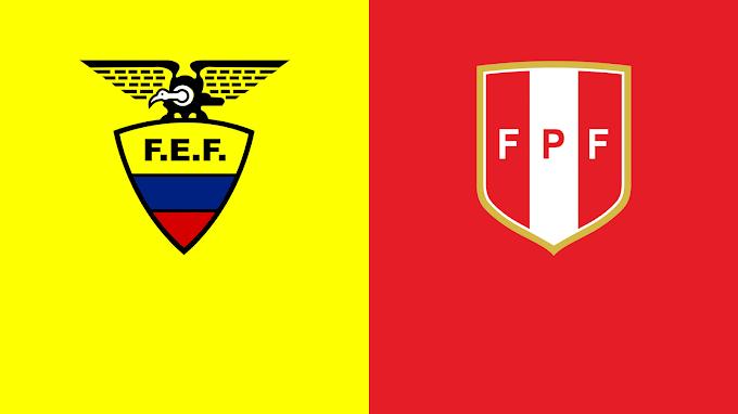 Watch Ecuador vs Peru match broadcast live today 23/06/2021 Copa America Championship