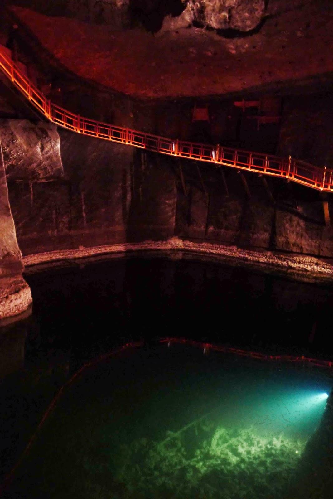 Wieliczka Salt Mine Eerie