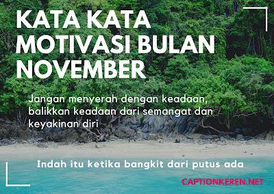 kata kata motivasi bulan november 2020