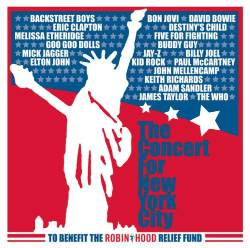 Various Artists - The Concert for New York City