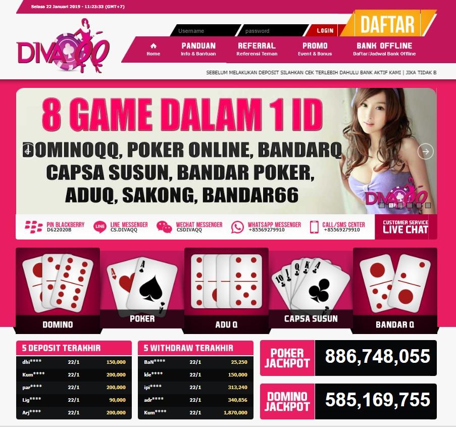 Bandar Poker Situs Poker Online Via Pulsa Terpercaya Divaqq