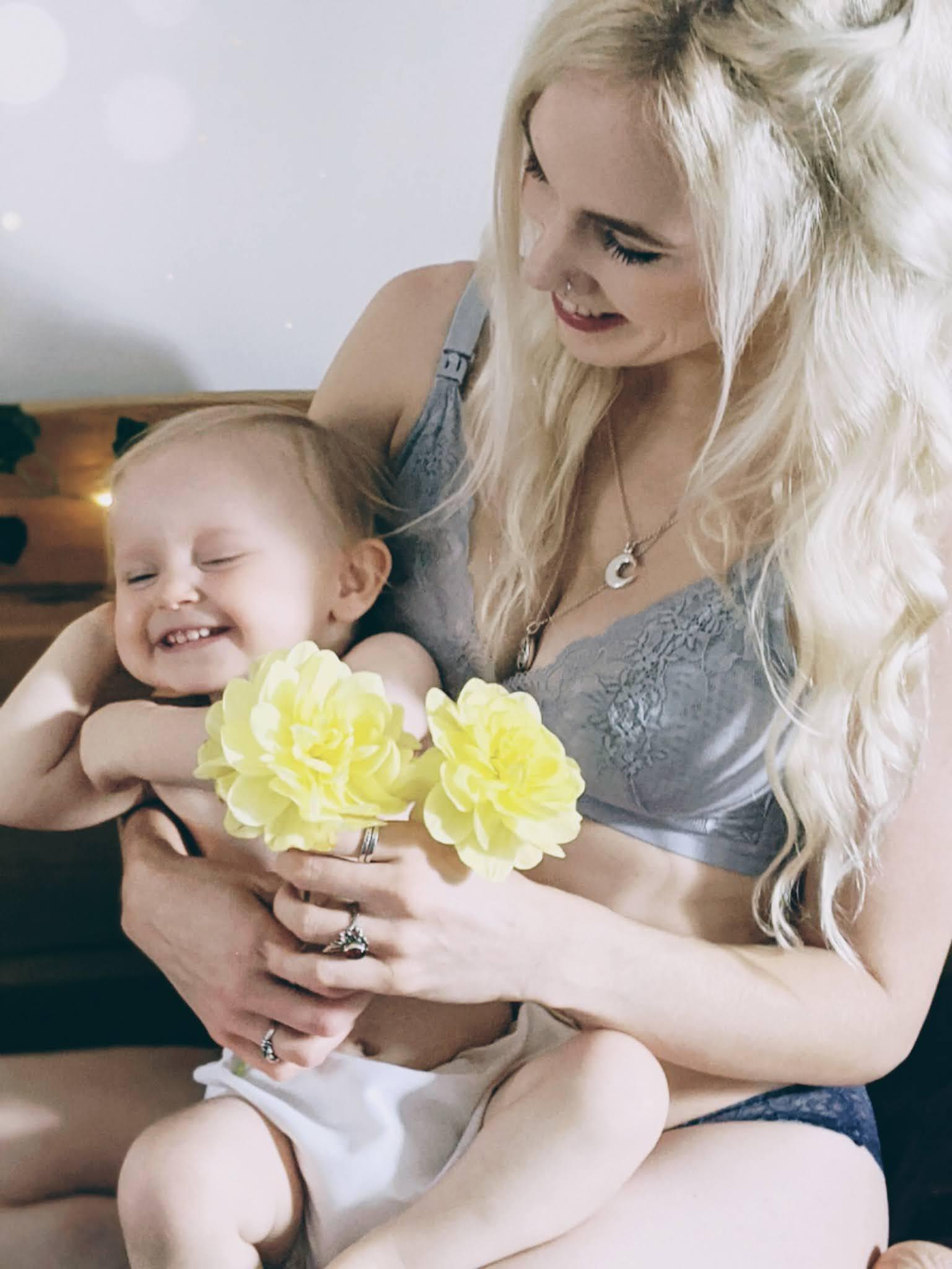 Bra & Bebe Nursing Bra littlepackofvegans