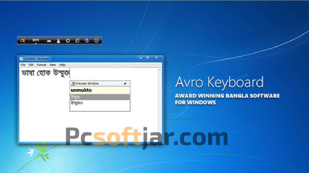 Avro Keyboard Latest Version Free Download for Windows / Mac