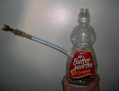 Mrs. Butterworth's Homemade Bong