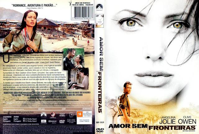Capa DVD Amor Sem Fronteiras